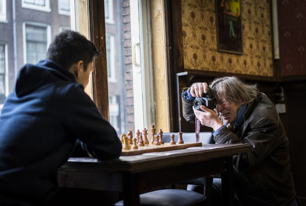 Tournament promotor and photographer Bas Beekhuizen. Photo: Lennart Ootes