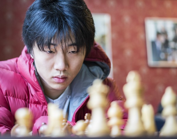 Bobby Cheng playing for a GM norm. Photo: Lennart Ootes